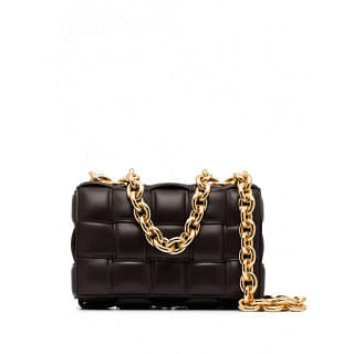 BOTTEGA VENETA THE CHAIN CASSETTE LEATHER SOHULDER BAG - INTTSB842855410