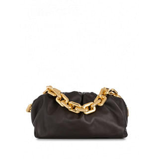 BOTTEGA VENETA THE CHAIN POUCH LEATHER SHOULDER BAG - INTTSB842949030