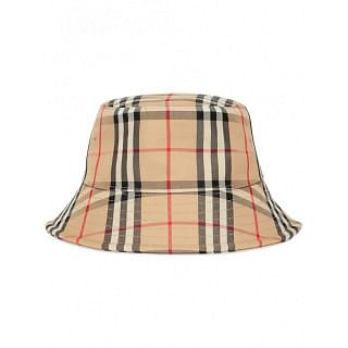 BURBERRY CHECKED BUCKET HAT - INTTSB843075729