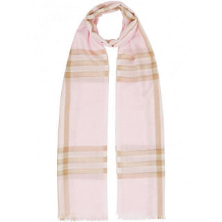 BURBERRY GIANT CHECK WOOL SCARF - INTTSB843426293