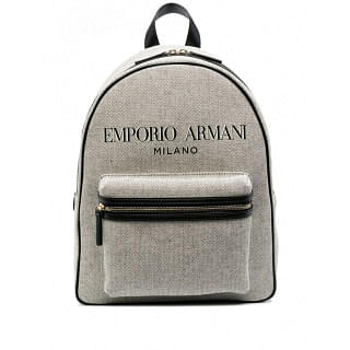 EMPORIO ARMANI ALLOVER LOGO LARGE BACKPACK - INTTSB843586892