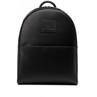 EMPORIO ARMANI LOGO FAUX-LEATHER BACKPACK - INTTSB844489159