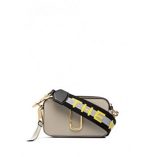 MARC JACOBS SNAPSHOT SMALL LEATHER SHOULDER BAG - INTTSB844771119