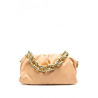 BOTTEGA VENETA THE CHAIN POUCH LEATHER SHOULDER BAG - INTTSB844984460