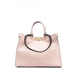 FENDI PPEKABOO LEATHER SMALL TOTE - INTTSB845457438