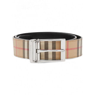 BURBERRY CHECKED BELT - INTTSB845982290