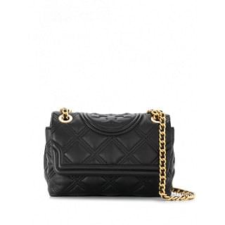 TORY BURCH FLEMING SMALL LEATHER SHOULDER BAG - INTTSB846045579
