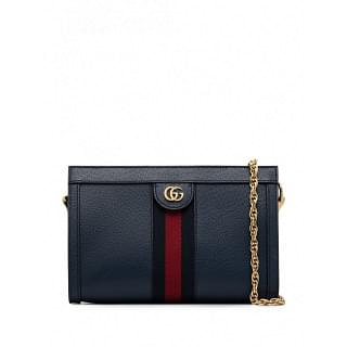 GUCCI OPHIDIA SMALL LEATHER SHOULDER BAG - INTTSB846719905