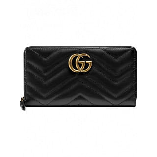 GUCCI GG MARMONT LEATHER CONTINENTAL WALLET - INTTSB848125263