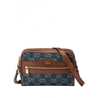 GUCCI OPHIDIA LEATHER CROSSBODY BAG - INTTSB848247545