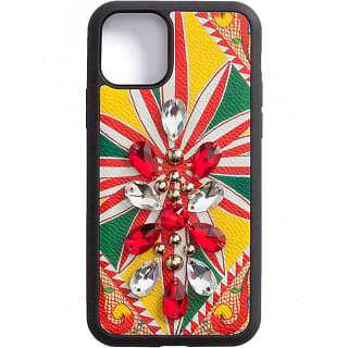 DOLCE & GABBANA IPHONE 11 PRO LEATHER COVER - INTTSB848735406