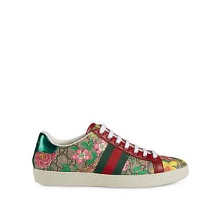 GUCCI ACE LEATHER SNEAKERS - INTTSB848897524