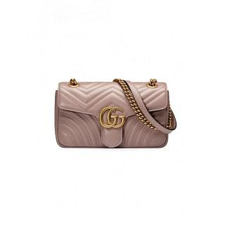 GUCCI MARMONT SMALL LEATHER SHOULDER BAG - INTTSB849171146