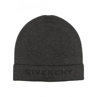 GIVENCHY COTTON BEANIE WITH LOGO - INTTSB849535620