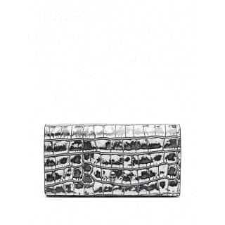 ALEXANDER MCQUEEN LEATHER CONTINENTAL WALLET - INTTSB849538918