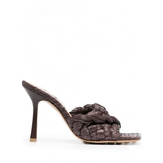 BOTTEGA VENETA STRETCH LEATHER SANDALS