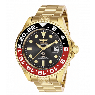 Invicta Grand Diver Red/Black