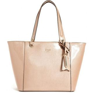 Guess Women Tote Bag , Brown , Leather , PP669123-PWD