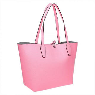 Guess Women Tote Bag , Pink , Leather , VG642236-FLG