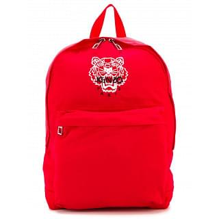 Kenzo Tiger Red Nylon Backpack