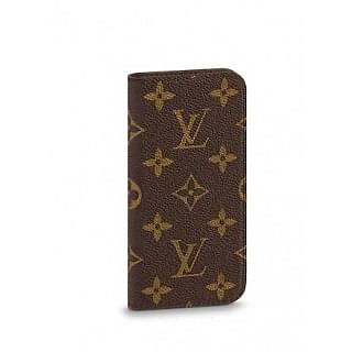 Louis Vuitton Monogram Canvas Iphone 7 Folio Case