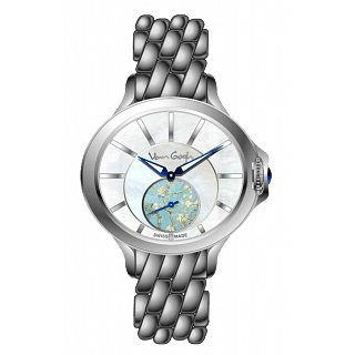 VAN GOGH Almond Blossom Gem Stone Stainless steel Watch (LOSA-B)