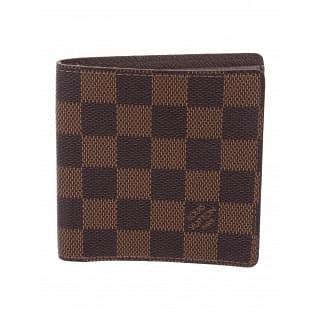 Louis Vuitton Damier Ebene Porte-Billets Mens Bi-Fold Wallet