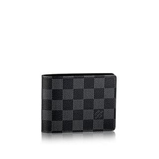 Louis Vuitton Men's Multiple Wallet in Damier