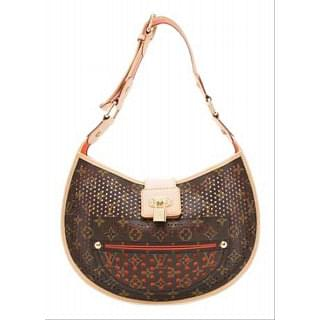 Louis Vuitton Monogram Perforated Demi Lune Shoulder Bag