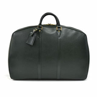 Louis Vuitton Helanga 1 Poche Green Taiga Garment Travel Bag