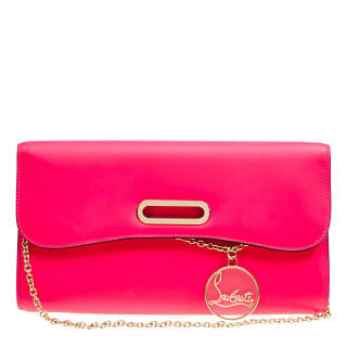 Christian Louboutin Rivera Leather Clutch