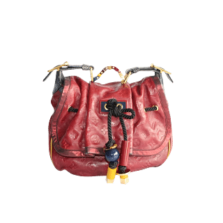 Louis Vuitton Limited Edition Epices Kalahari GM Maroon Tote Bag