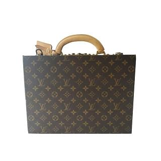 Louis Vuitton Monogram Boite Bijoux Jewellery Case Hard Trunk