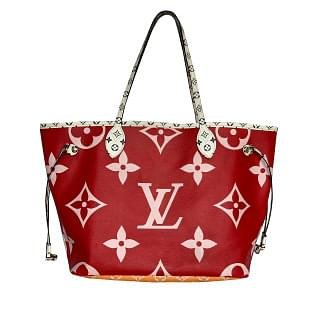 Louis Vuitton Monogram Neverfull MM Giant Tote