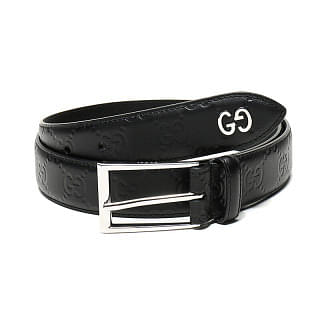 Gucci Signature GG Detail Leather Belt