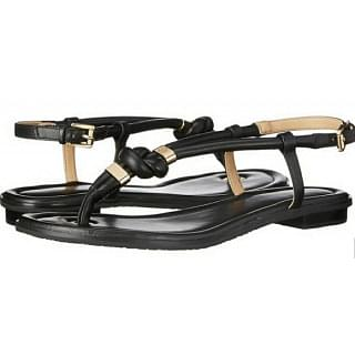 Michael Kors Holly Thong Leather Sandals