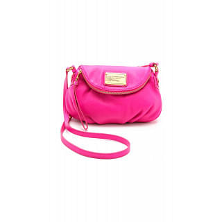 Marc by Marc Jacobs Mini Natasha Leather Pink Cross Body Bag