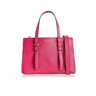 Marc Jacobs Leather Mini T Studded Tote