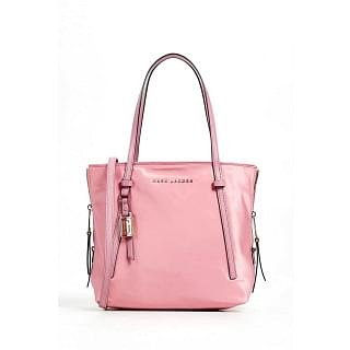 Marc Jacobs Shopping Zip That Leather and Nylon Tote