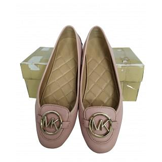 Michael Kors Lillie Leather Moccasin Flats