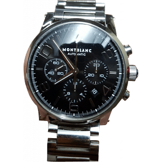 Montblanc Automatic Black Steel Finish Watch