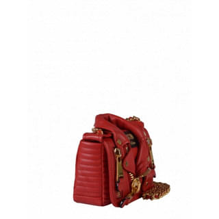 Red Moschino Shoulder Bag
