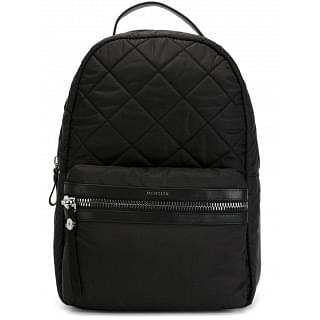 Moncler George Black Quilted Backpack