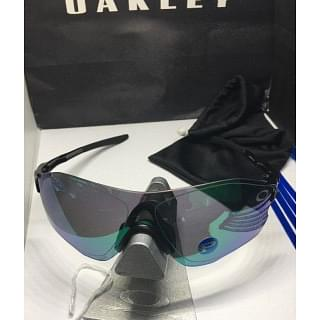 Oakley Black / Jade Green Polarized lens EvZero Sunglasses