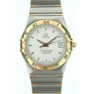 Omega Constellation Steel and Gold Automatic
