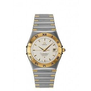 Omega Constellation Chronometer Automatic 35.5 MM Steel & Gold