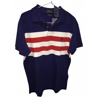 Polo Ralph Lauren Navy with White And Red Stripes