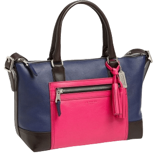 Coach Legacy Colour Block Molly Leather Satchel