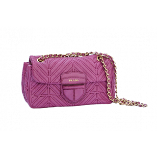 Prada Nappa Mosaico Quilted Leather Bag