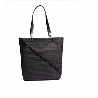 Michael Kors Raven Black Monogram Tote Bag for Women